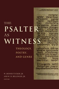 The Psalter as Witness
