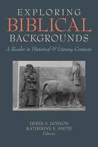 Exploring Biblical Backgrounds