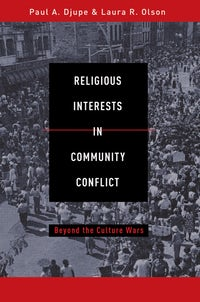 Religious Interests in Community Conflict